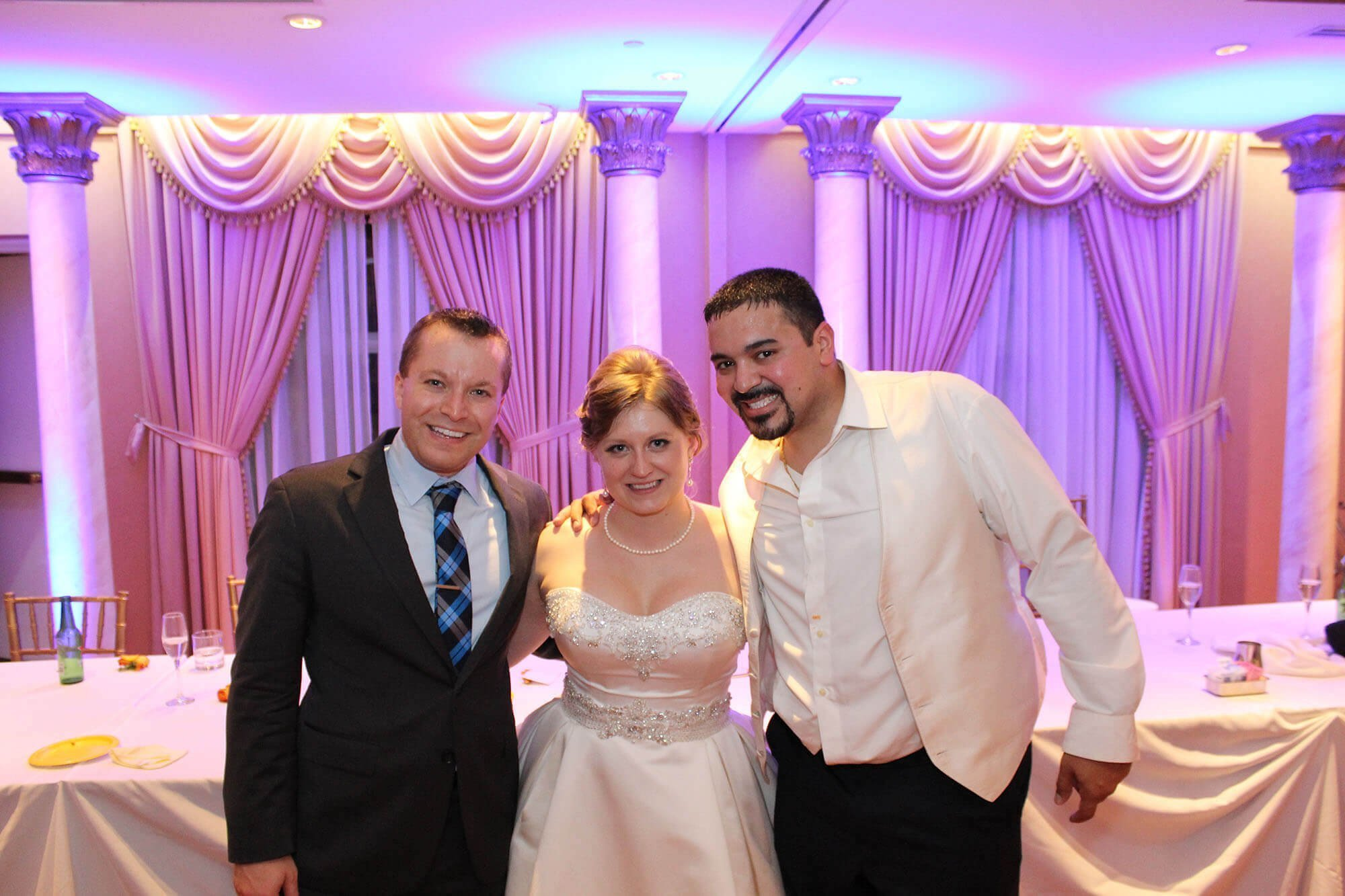 European Crystal Banquets Arlington Heights Wedding DJ with Happy Couple Blog Cover