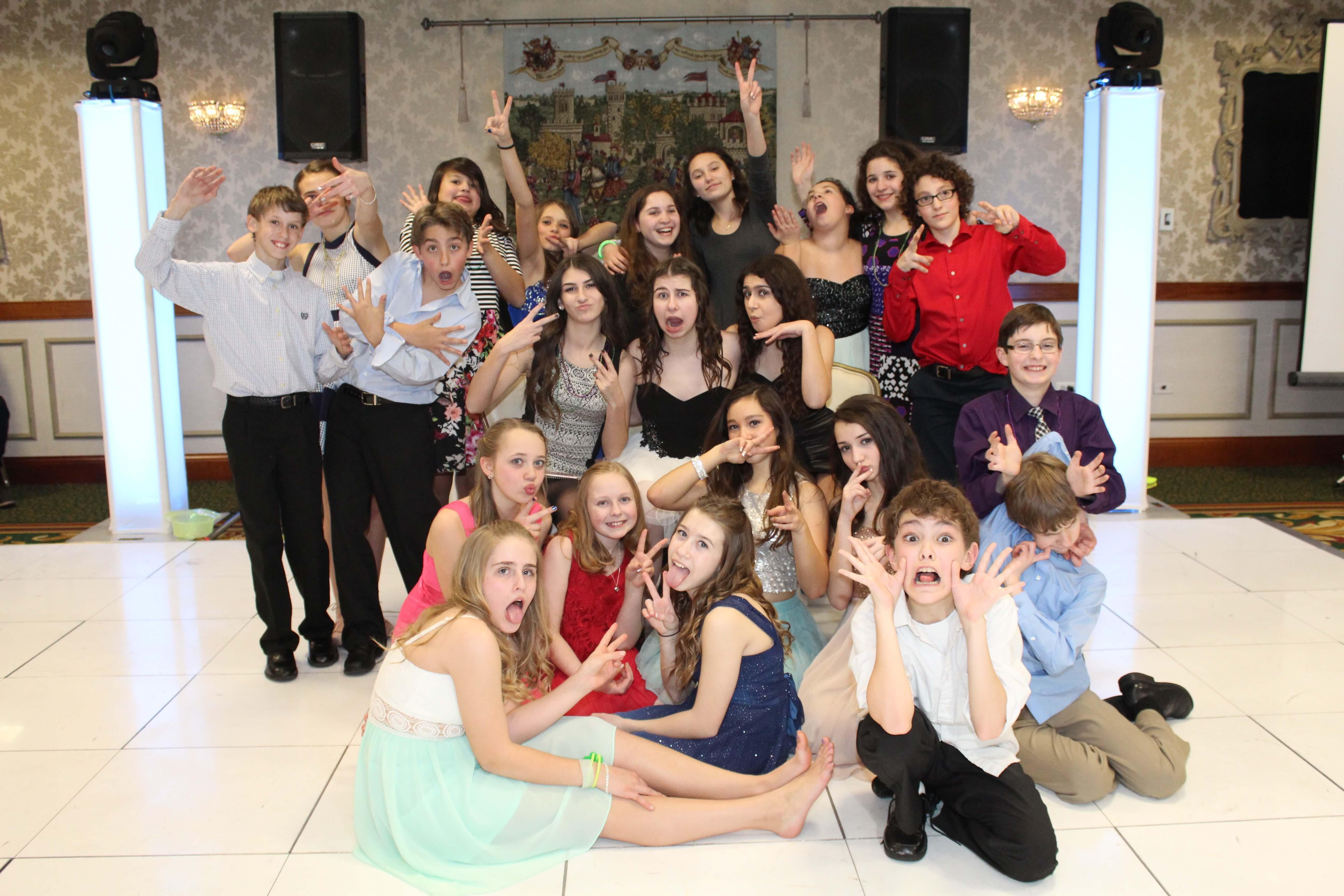 Gillian's Bat Mitzvah Group Photo