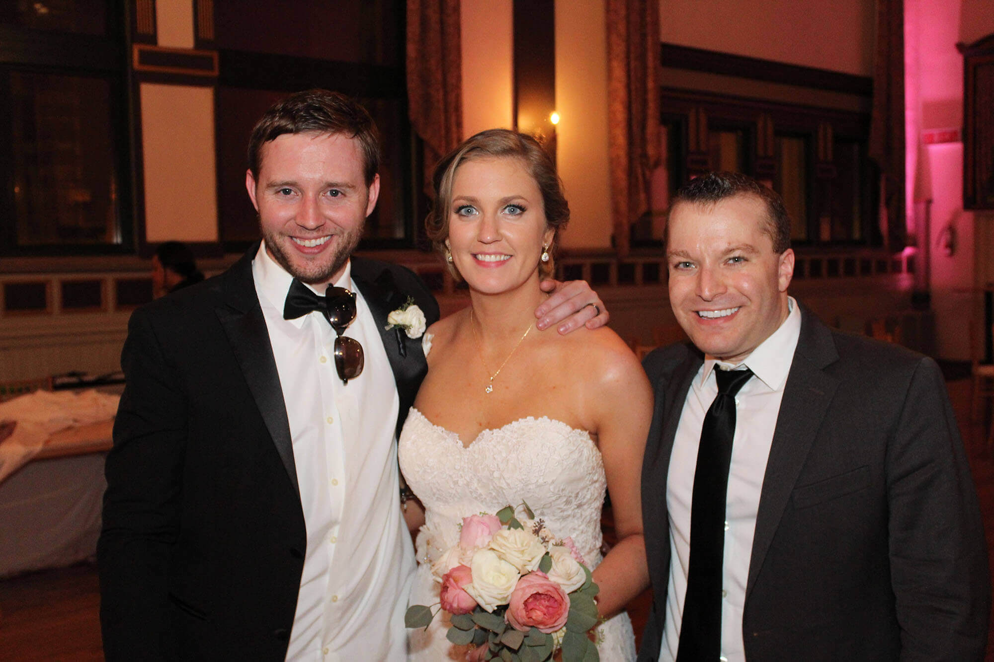 Germania Place Top Wedding DJ with Bride and Groom