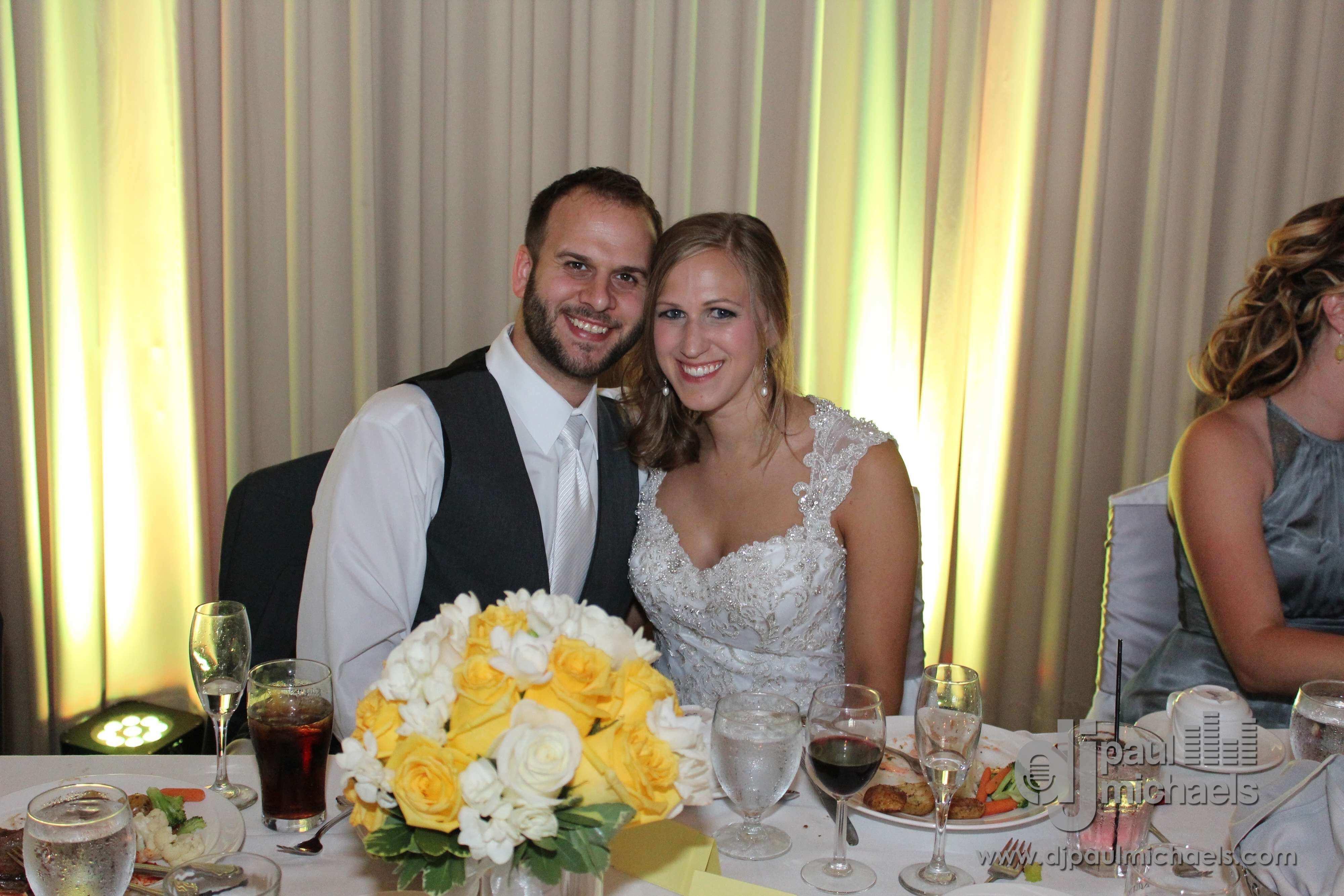 Happy Wedding Couple at White Deer Run Golf Club Vernon Hills Wedding DJ Blog Cover