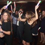 guests dancing at a wedding
